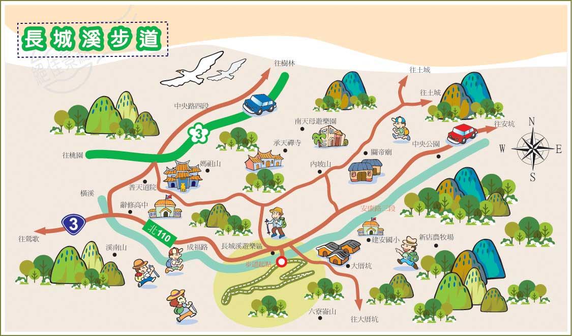 长城溪地图